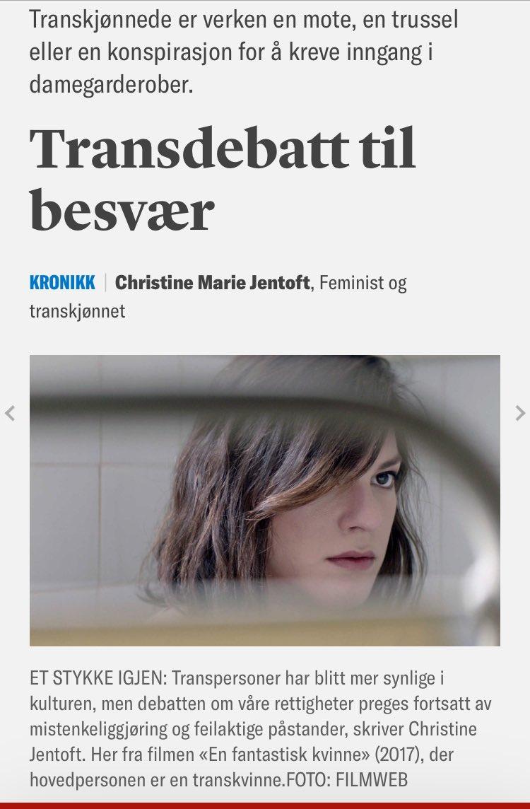 1cb52425 Transkjønnede er ikke mote, en trussel eller en konspirasjon for å kreve  inngang i kvinnerom.