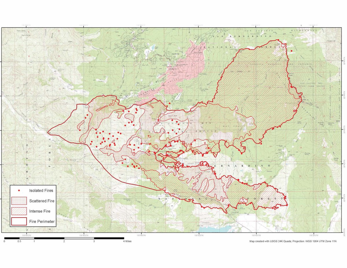Cal Fire Riverside On Twitter Cranstonfire Updated Map Provided