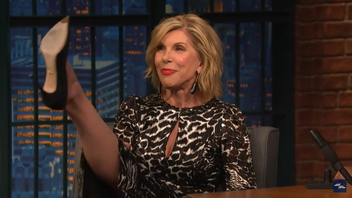 Watch Christine Baranski video