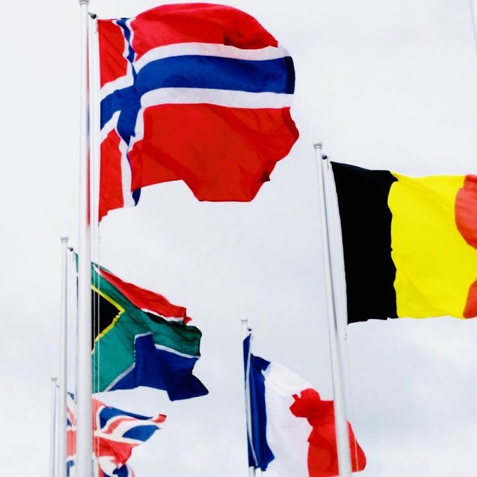 #International #World #Flags sport bold colors in motion, bright up the sky for all. https://t.co/IEIVrUJoEo https://t.co/u16166veXY