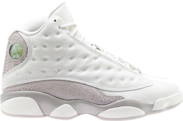 super popular 540c1 17bc0 air jordan retro 13 womens lifestyle shoe phantom moon particle white