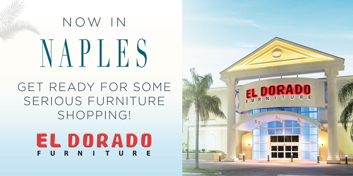 Visit Http://eldoradofurniture.com/grandopening For More.pic.twitter.com /dnWiNVK6jM