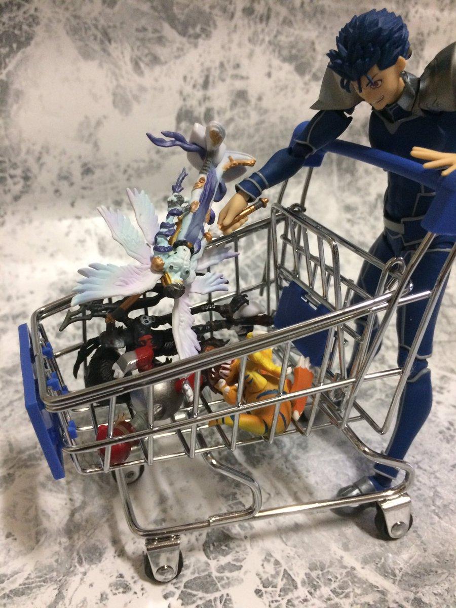 test ツイッターメディア - 思わずダイソーで200円で買ったカートいいぞ。figmaとか乗せてもいい。押すとなると少し大きいけど。ランサーもライダーになる。 #ダイソー  #figma https://t.co/I4iyuji79H