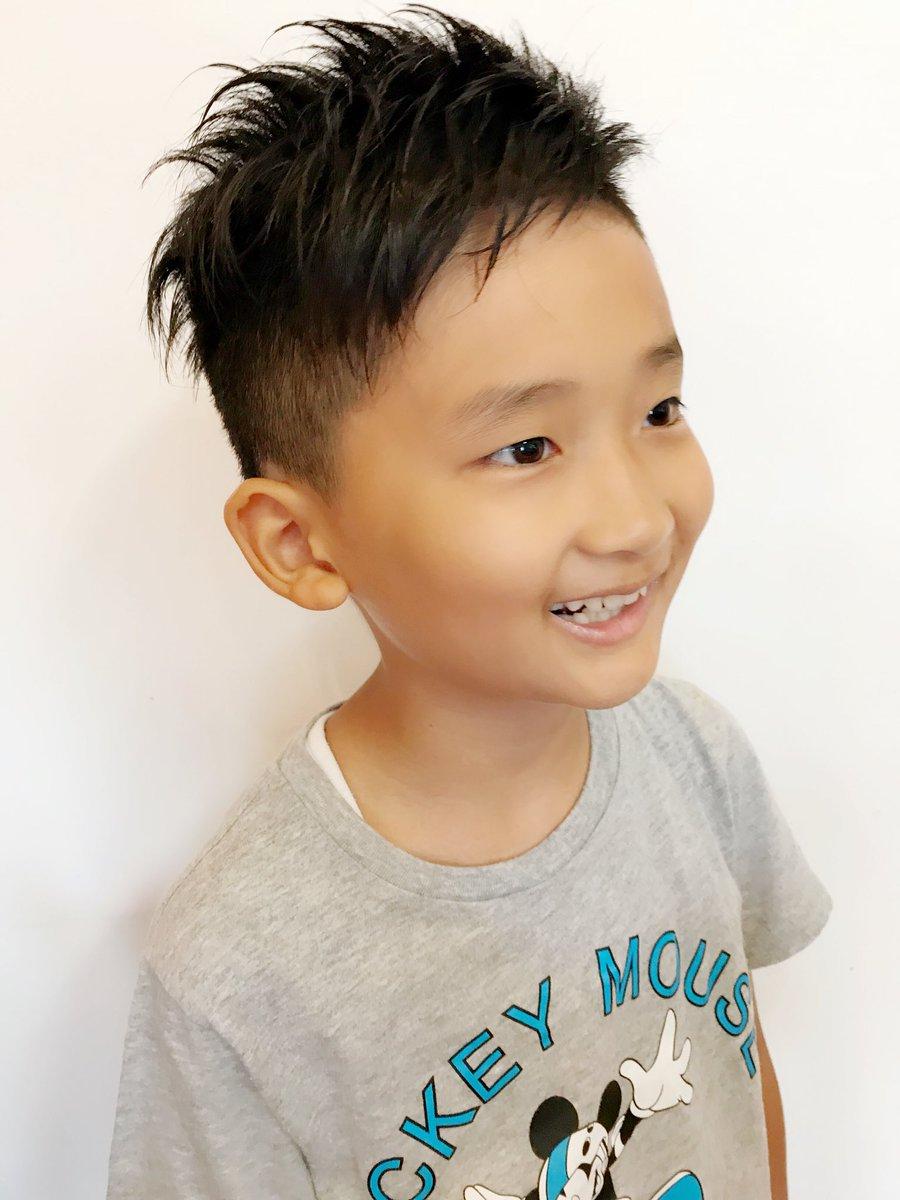 男の子 髪型