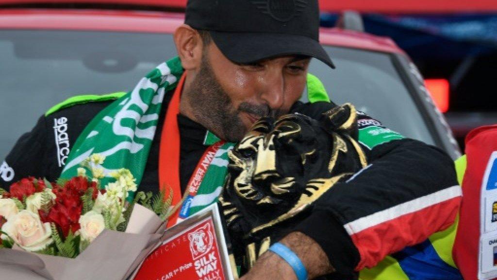 Smooth as silk: Al-Rajhi triumphs in 3,500km race as Gulf trumps Russia f24.my/3LG4.t