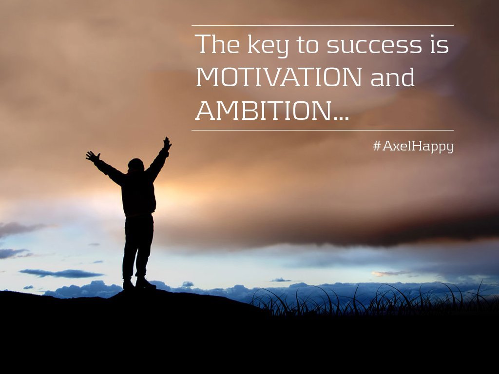 motivation to succeed Intrinsic motivation comes from within it's the sense of working toward something simply because how you define success and failure drives many of your beliefs about your own ability to succeed.