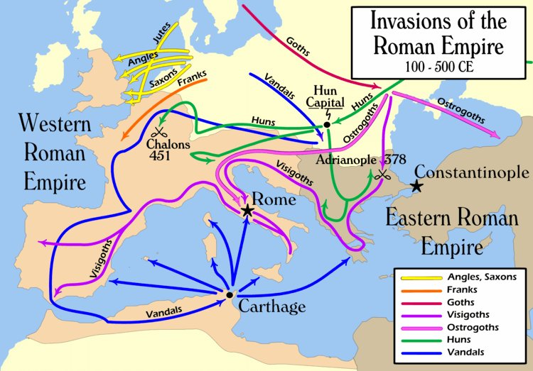 reasons fall western roman empire The western roman empire was the western part of the roman empire which, later, became known as the holy roman empire by 285 ce the roman empire had grown so vast that it was no longer feasible to govern all the provinces from the central seat of rome.