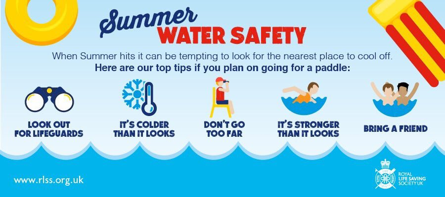 "Sam Metalli-Haward on Twitter: ""Simple and effective water safety messages.  Follow the basics #bewateraware… """