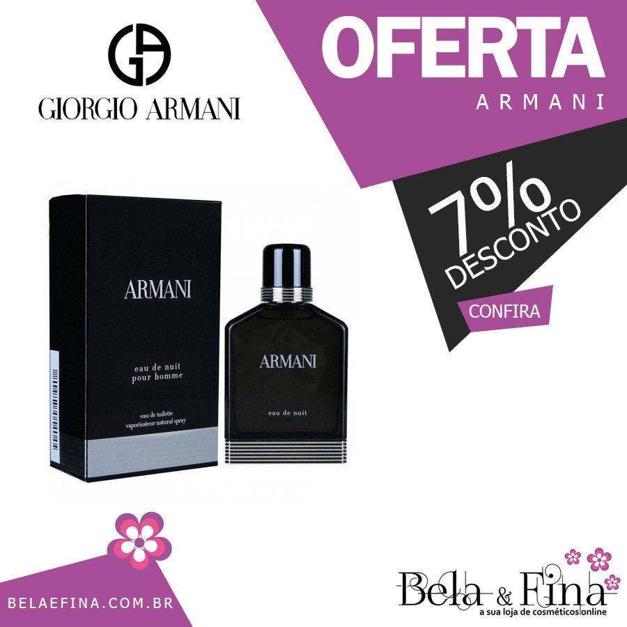 4cf72b4c8 Perfume Armani Eau de Nuit EDT Masculino - Giorgio Armani 100ML  https://www.belaefina.com.br/armani-eau-de-nuit-edt-masculino-giorgio-armani -100ml …