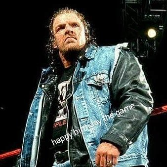 I love you triple h happy birthday the game