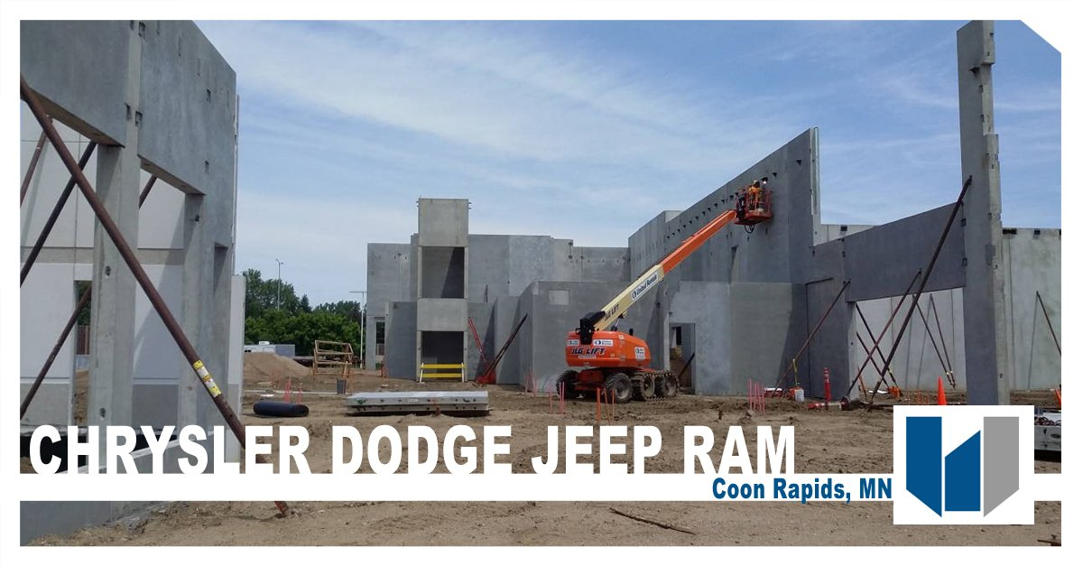 Chrysler Dealerships Mn >> Wells Concrete On Twitter The Chrysler Dodge Jeep Ram