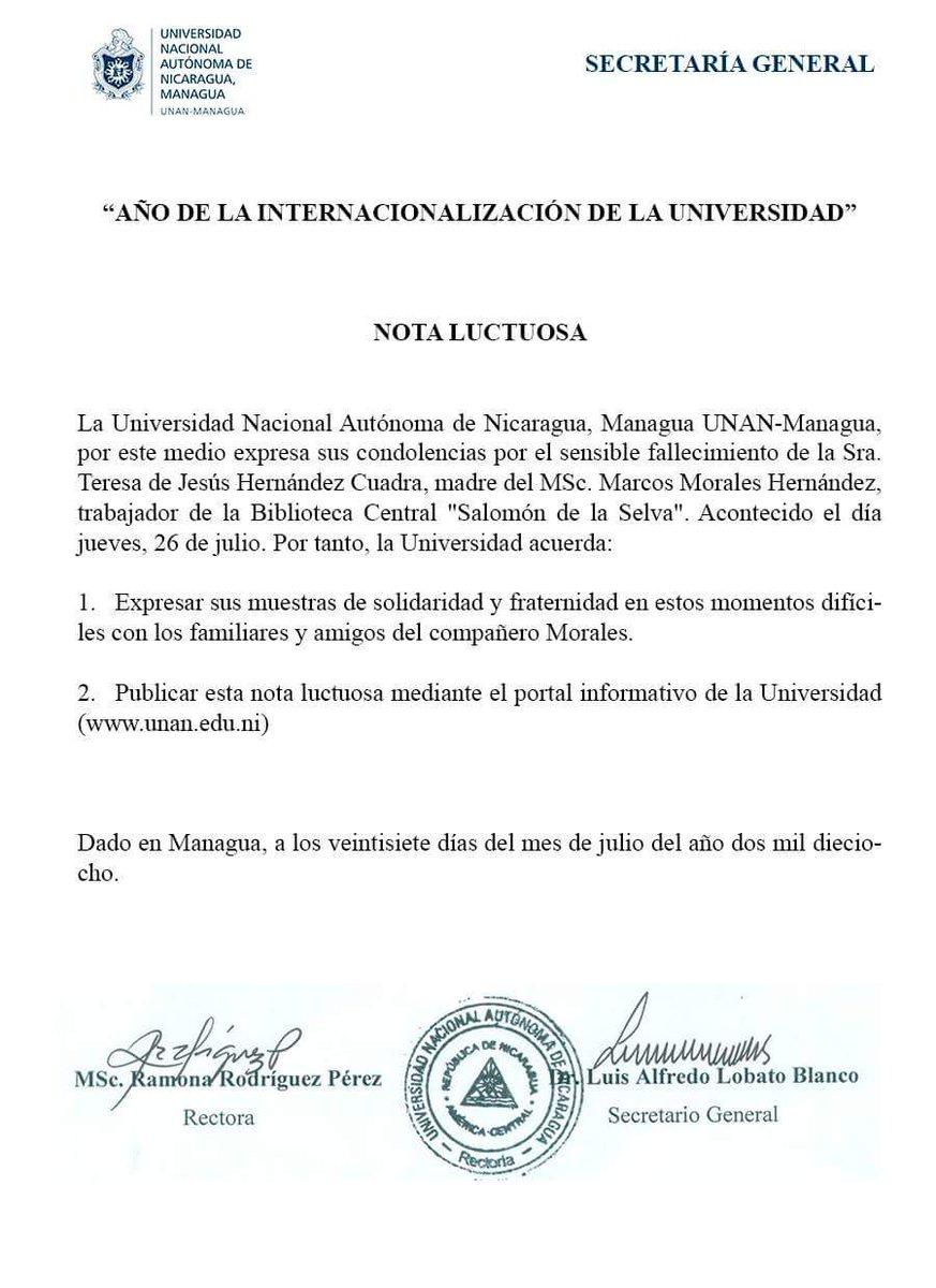 UNAN-Managua (@UNANManagua) | Twitter