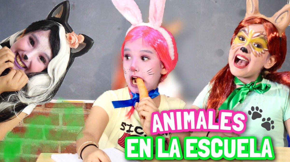 Holaaa Nuevo Video Si Los Animales Fueran A La Escuela Vayan