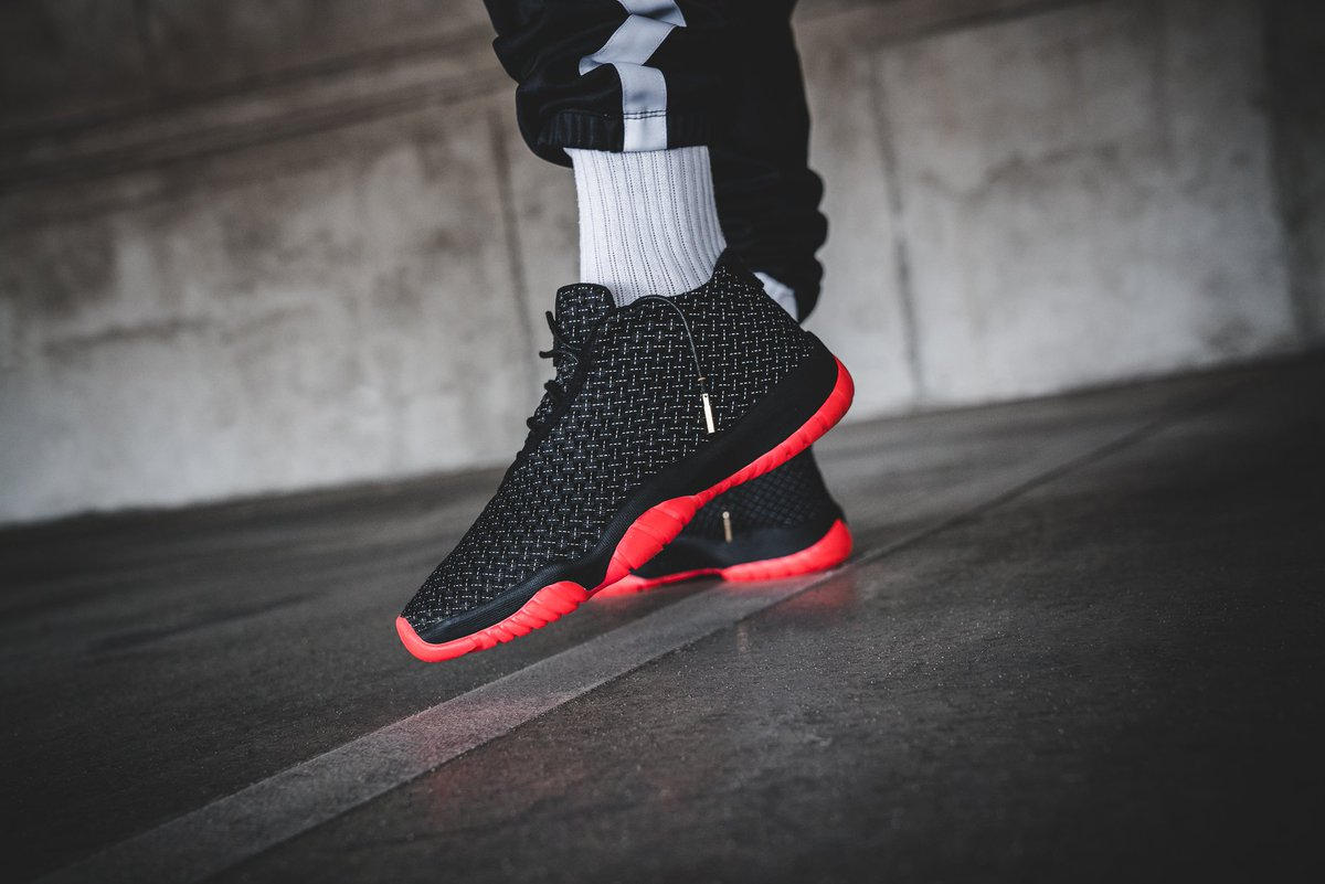 The Air Jordan Future Premium  Black Infrared 23  is launching tomorrow     http   bit.ly 2LKnMMY pic.twitter.com 8yNReB9Aw7 15de9bac3