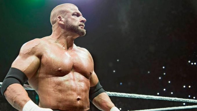 """Happy Birthday to WWE C.O.O. \""""The Game\"""" Triple H who turns 49 today!"""