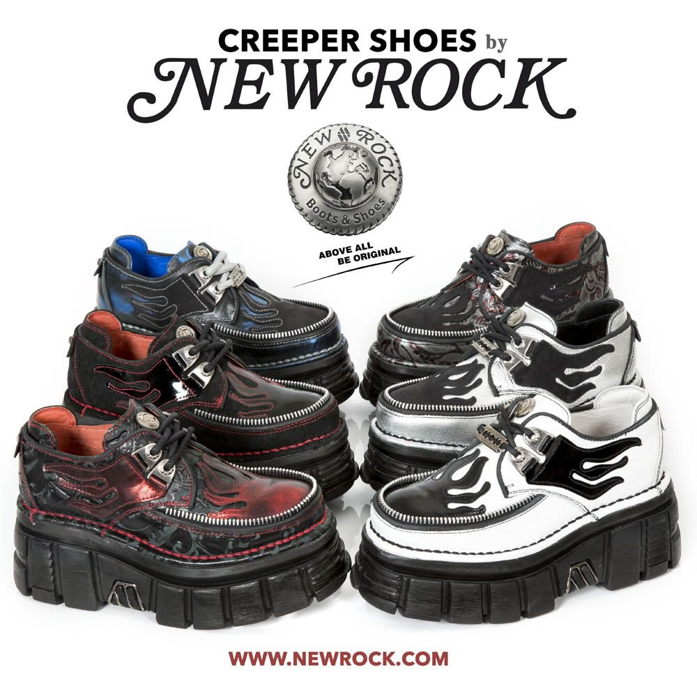 Newrock On Twitter New Creepers Styles Available At Https