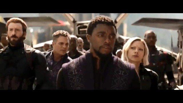 Welcome to Wakanda. #InfinityWar