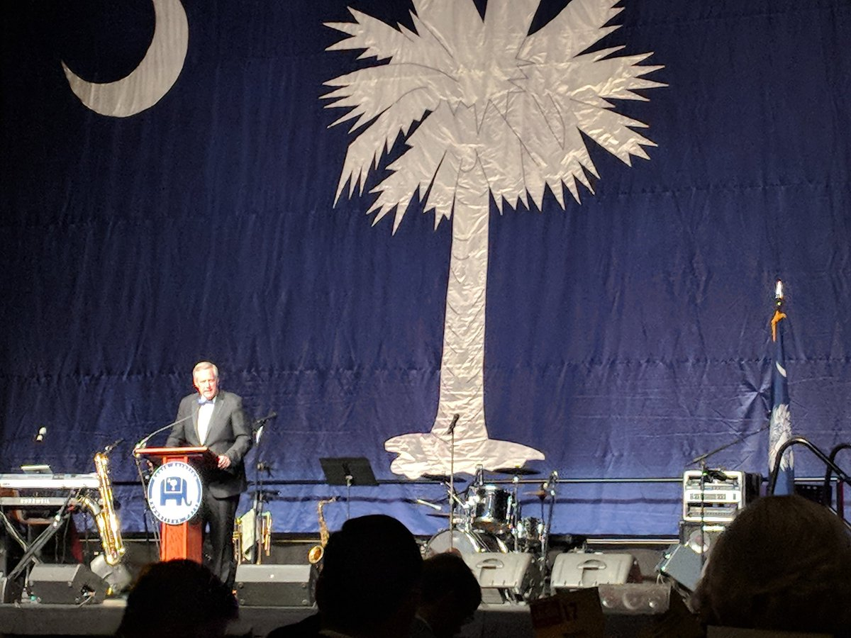 'South Carolina is going to determine who we are as a nation in 2020.' @MarkMeadows