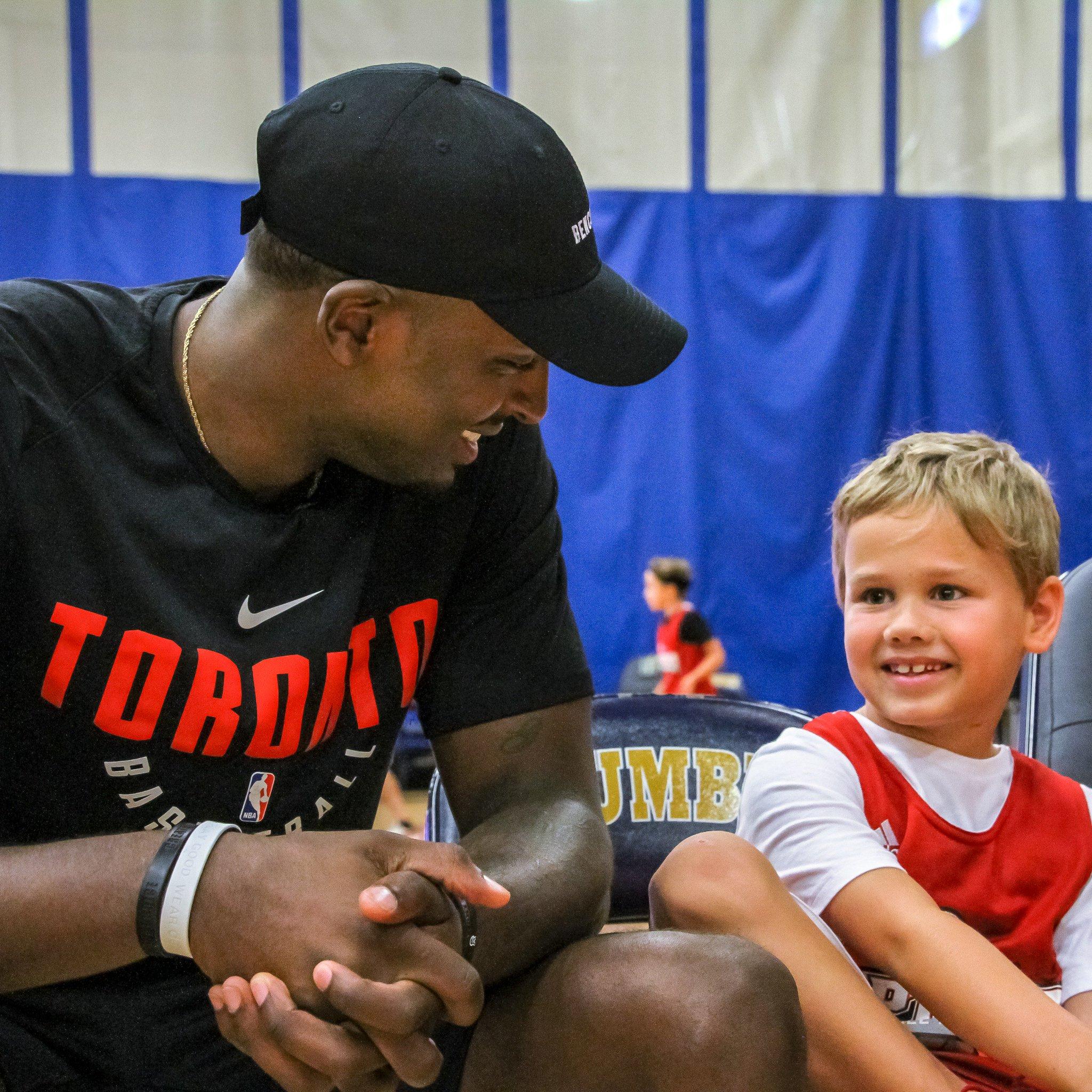 Fun was had today at Raptors Basketball Academy. #WeTheNorth https://t.co/XARo8nIdMG