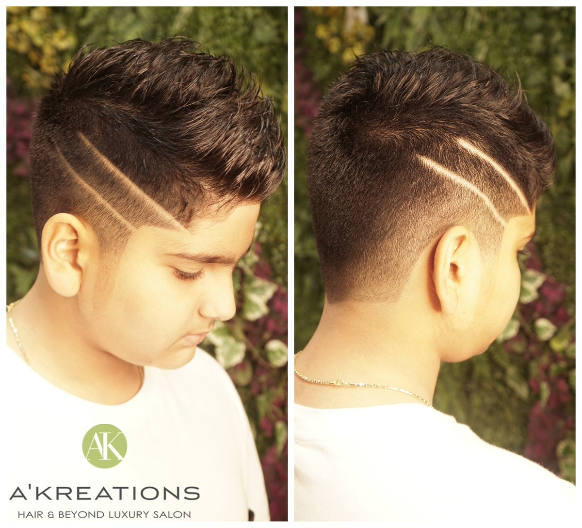 "A Kreations a Twitter: ""Funky fadecut for this toddler!! Hair cut"