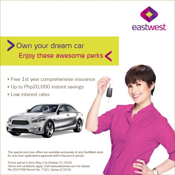 Bank Of The West Auto Loan >> Eastwest Bank On Twitter Own Your Dream Car With Eastwest