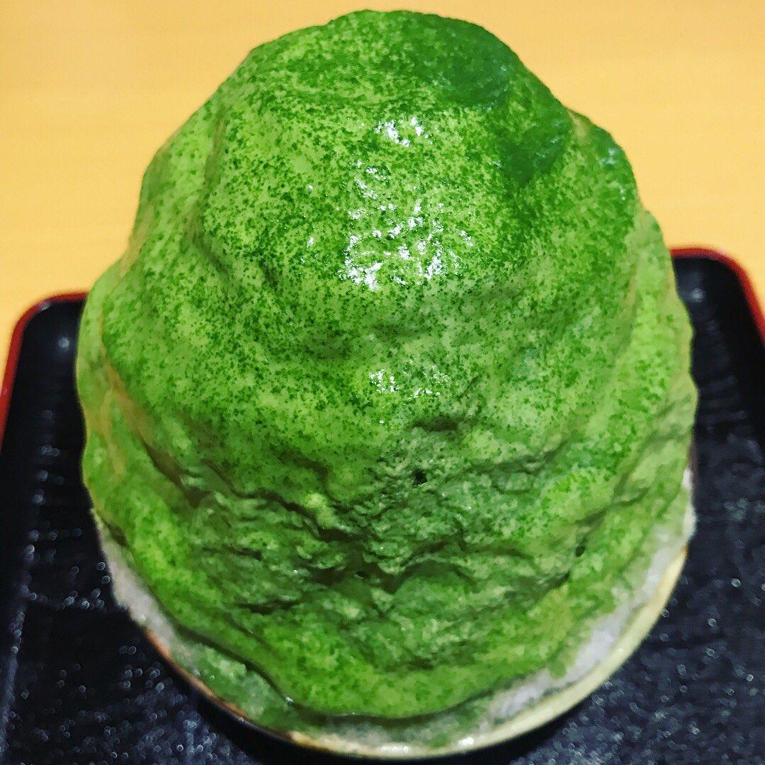 抹茶好きにはたまらない?日本茶専門店の濃厚抹茶かき氷がこれwww