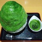 抹茶好きにはたまらない?日本茶専門店の濃厚抹茶かき氷がこれ!