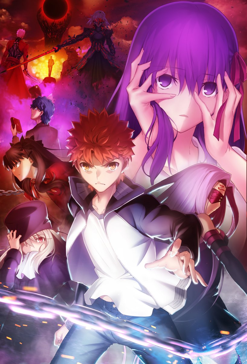 劇場版「Fate/stay night [Heaven's Feel]」Ⅱ.lost butterfly公開日がイベント