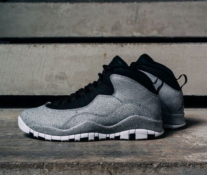 "30268918843 The Air Jordan 10 Retro ""Light Smoke Grey"" Releases On July 28th $190  =»https://bit.ly/2yHBKgo pic.twitter.com/f329UgtxLX"