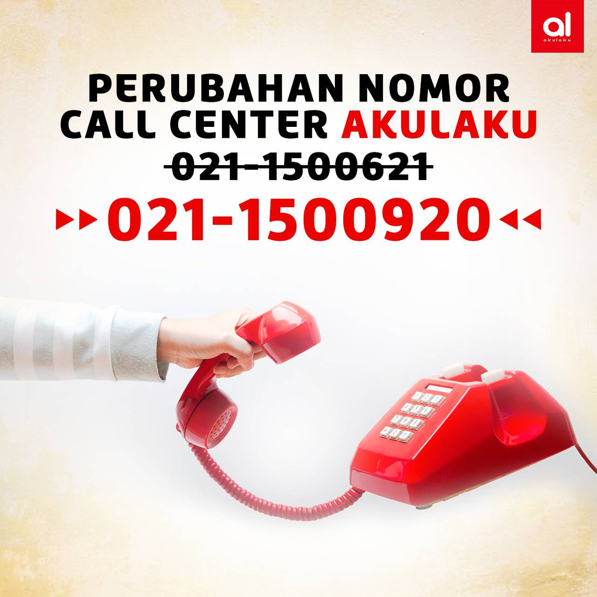 Akulaku Indonesia On Twitter Alovers Nomor Call Center Akulaku Akan Berubah Menjadi 1500920 Dengan Layanan Operasional Senin Minggu Pukul 08 00 21 00 Mohon Untuk Tidak Menghubungi Nomor Lain Yang Mengatasnamakan Akulaku Selain Nomor Yang Tertera