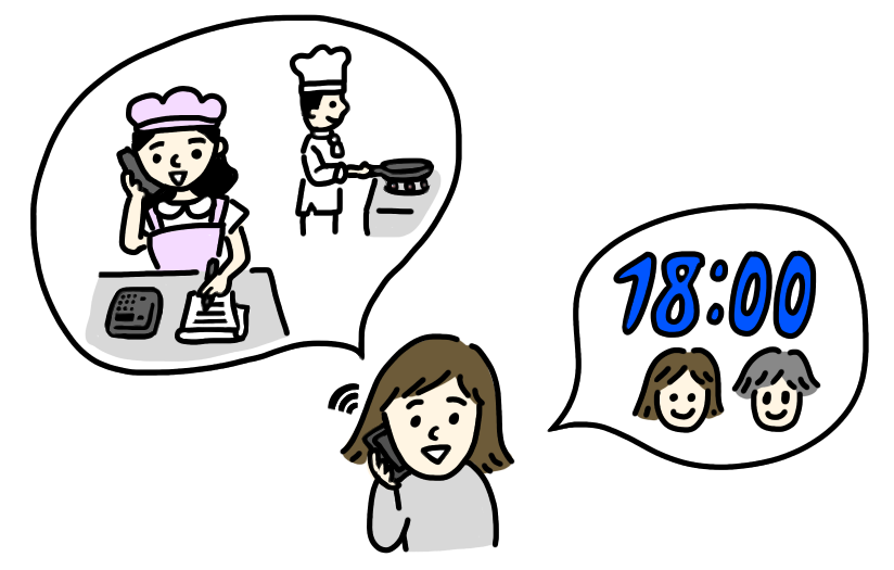 日本語の絵 On Twitter イラスト追加動詞語彙に予約するを追加