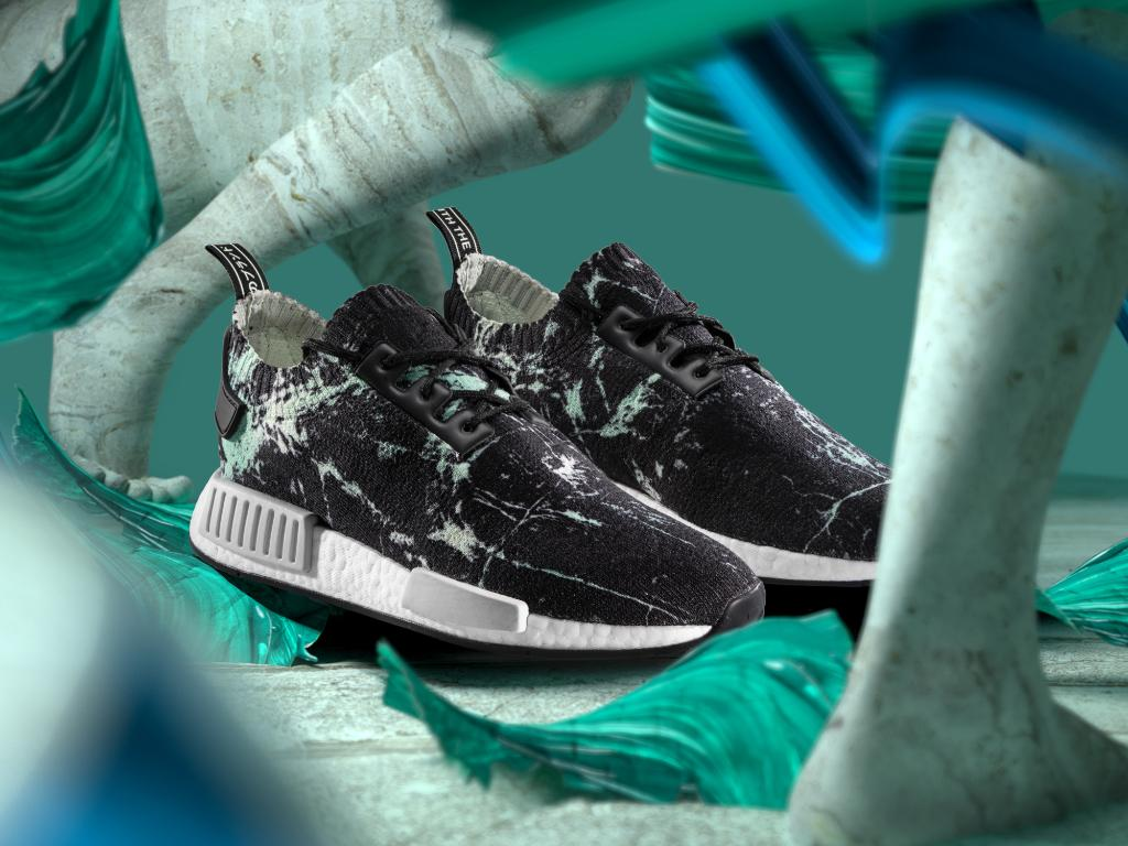 "a2d1f025b A premium treatment inspired by classical Greek and Roman architecture  create the NMD R1 ""Green Marble Flash"" available in stores now."