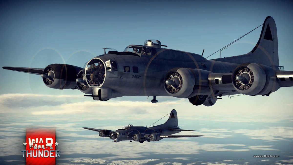 b 17 flying fortress war thunder