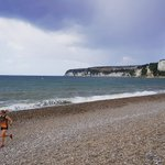 Warming up for the Seaton @parkrunUK along the #Jurassiccoast #TORQFuelled