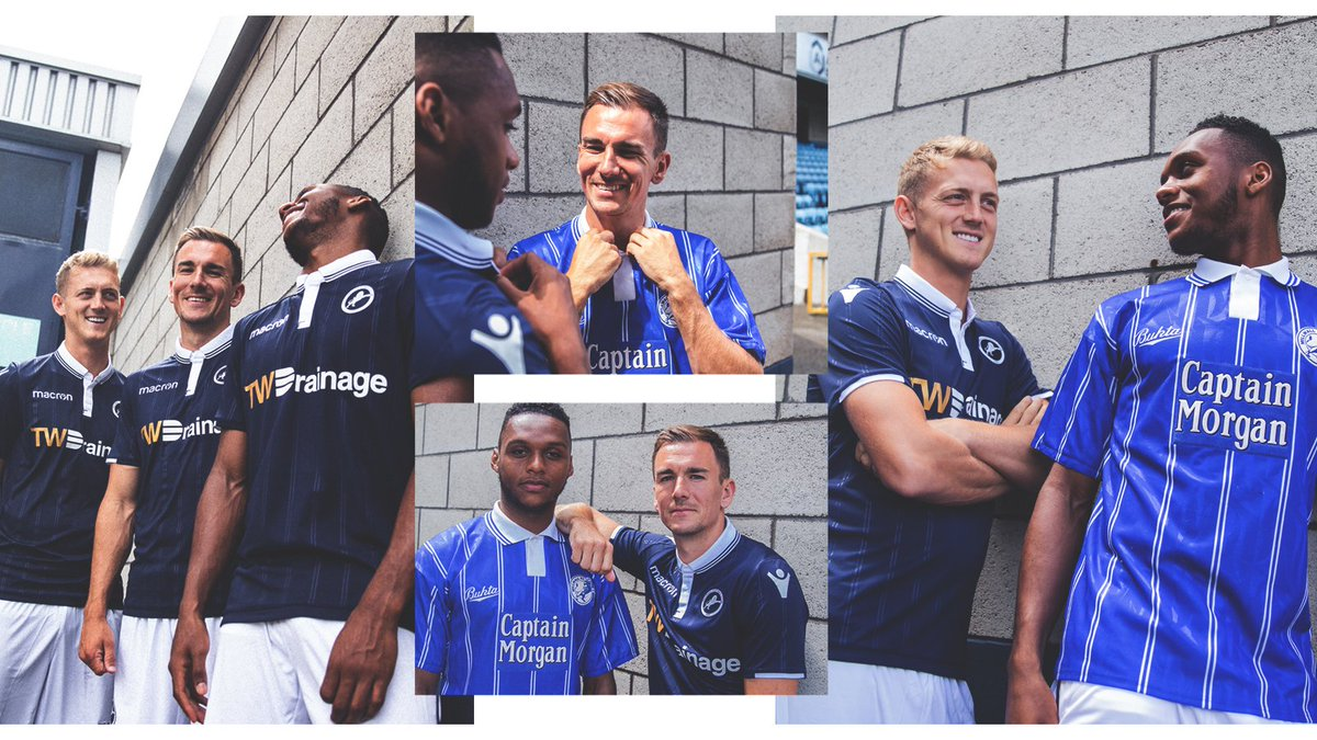 34158a698  Millwall s 2018 19 home kit is available to buy in the Lions Store today!  Pre-orders are also available for collection - please bring your order  number and ...