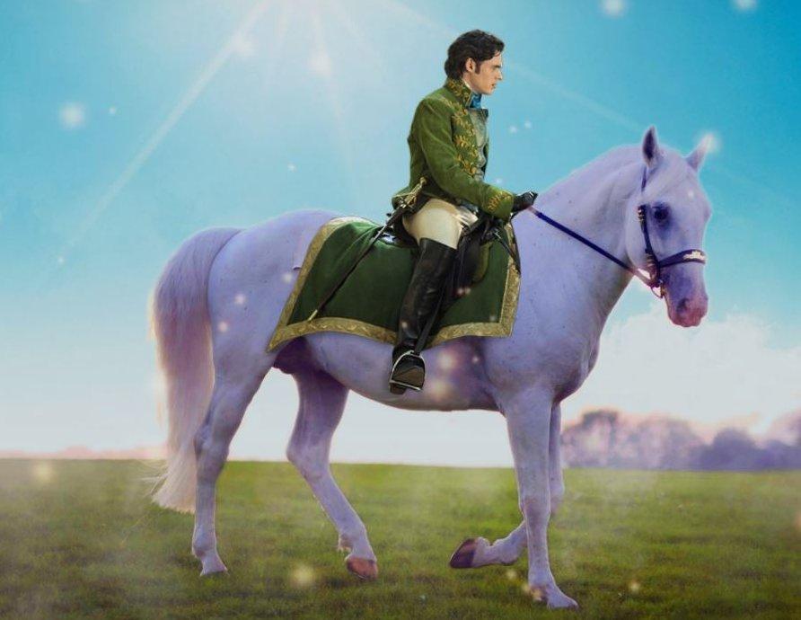 Поздравления принц на белом коне