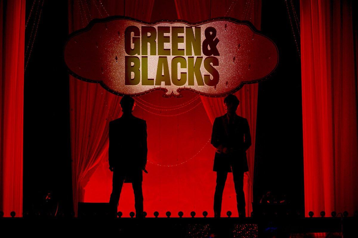「グリーン&ブラックス」第16話、ご覧頂きありがとうございました 夏休みSPミュージックショー拡大版