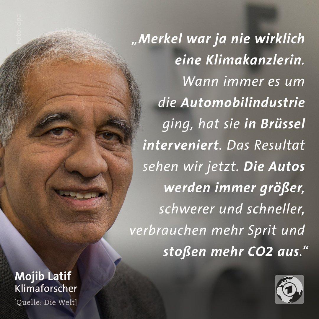 Der Klimaforscher Latif macht der #Bundeskanzlerin schwere Vorwürfe beim #Klimaschutz.