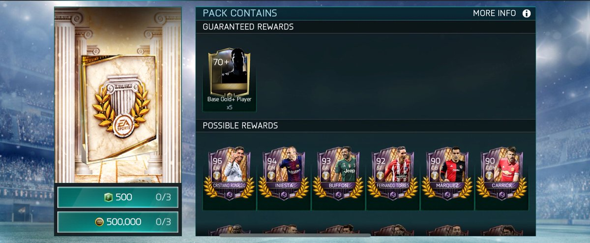 Share your pulls @EAFIFAMOBILE