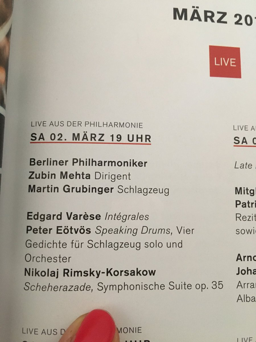 Esra Doğramacı On Twitter I Think The At Berlinphil Have
