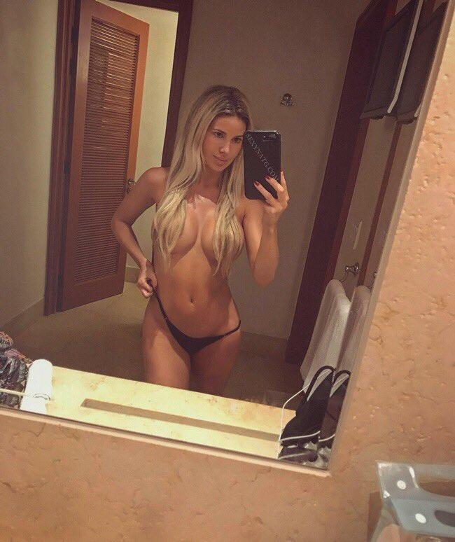 Natalie Gauvreau  - Bikini top? twitter @SexyNatG