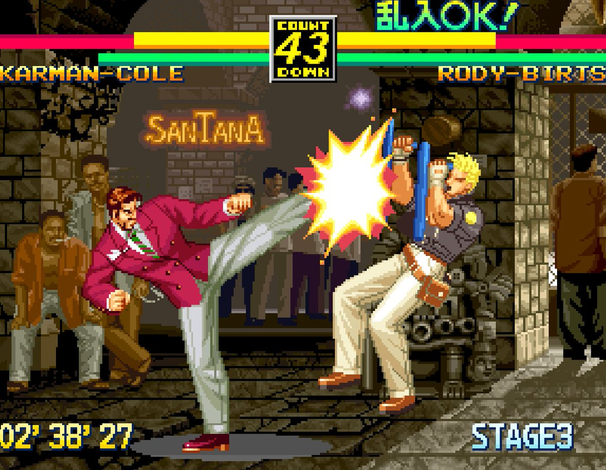 Hamster Corporation On Twitter Aca Neogeo Art Of Fighting 3 Is