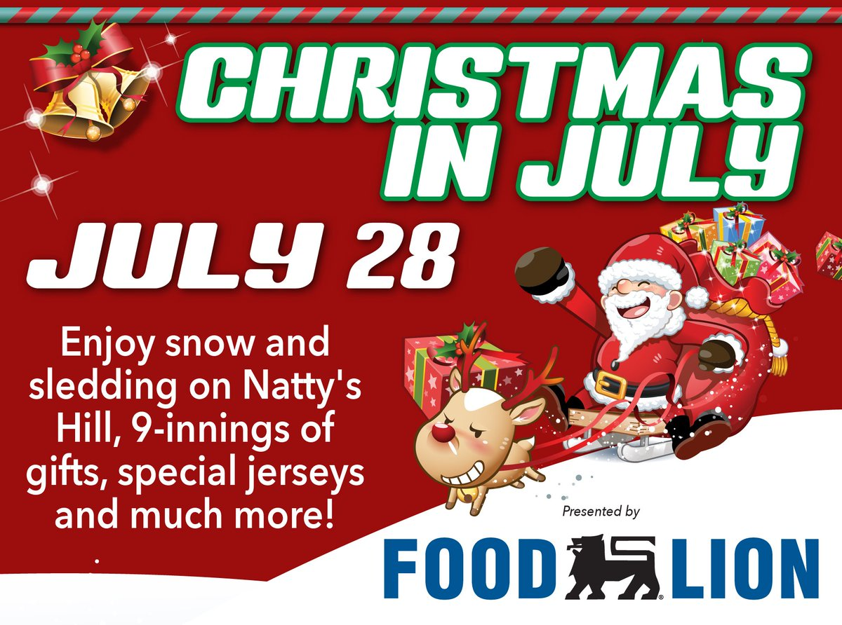 Merry Christmas In July Images.Greensboro Grasshoppers On Twitter Ho Ho Ho Merry
