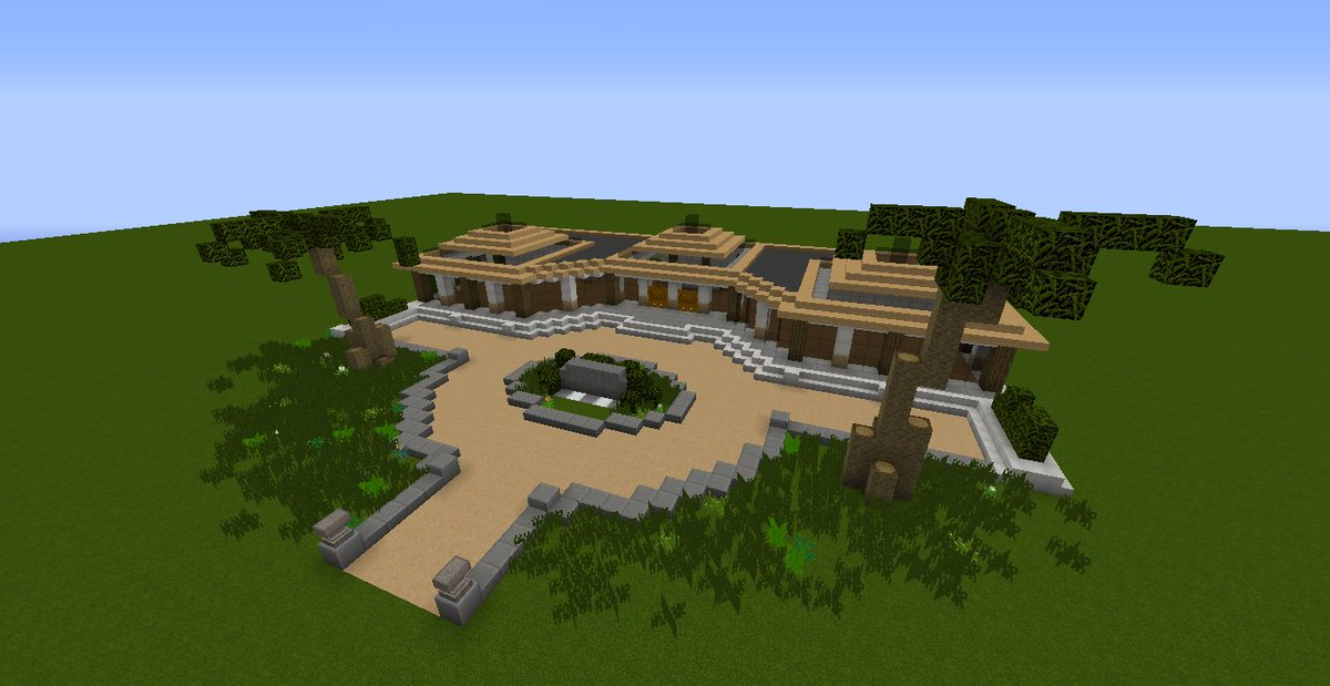 Isla Nublar Minecraft Map בטוויטר The Main Entrance Building To The Safari Lodge Where Visitors Will Check In This Is All That Is Currently Done Of The Build We Plan To Include