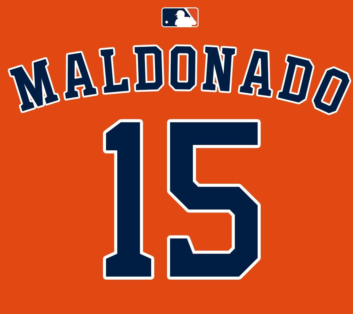 Mlb Jersey Numbers On Twitter C Martin Maldonado
