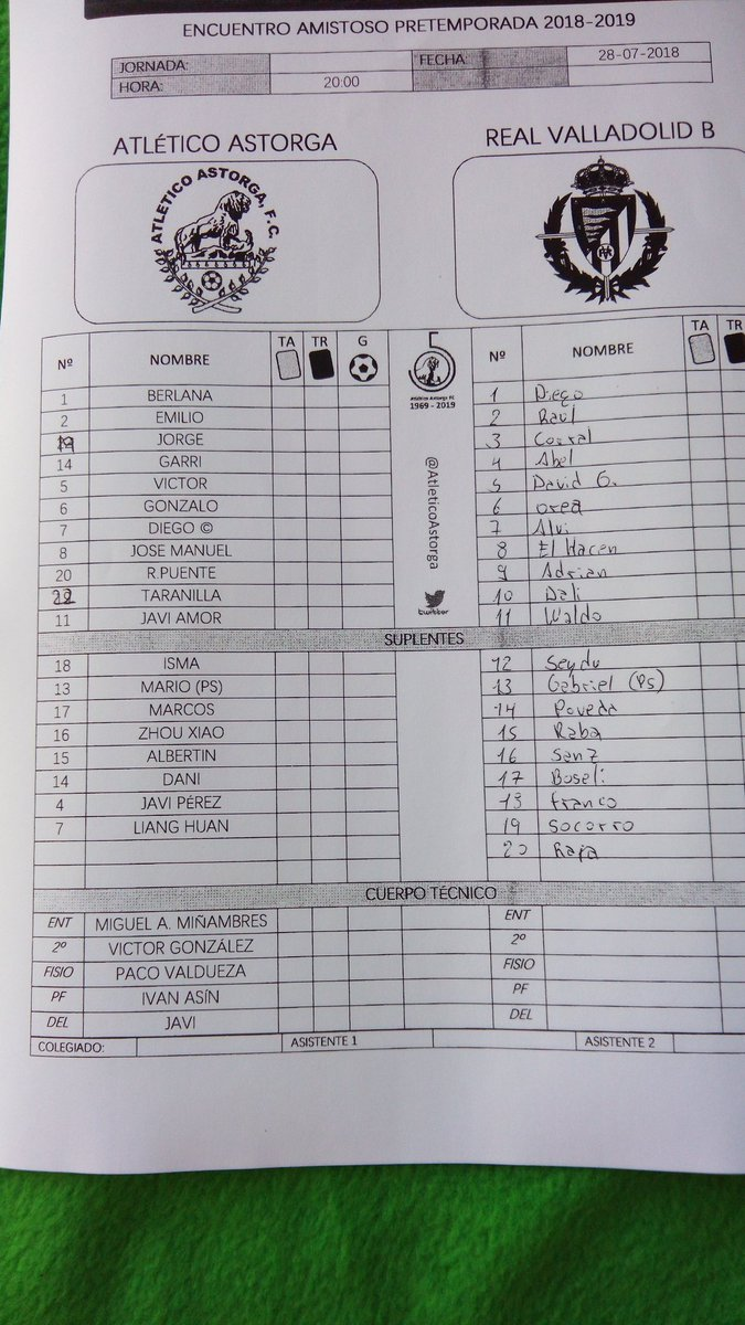 Real Valladolid B - Temporada 2018/19 - 2ª División B - Página 5 DjNcWDjWsAAfpsR