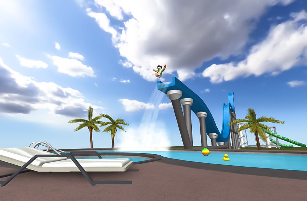 Roblox On Twitter Happy Waterparkday Make A Splash In The Summer