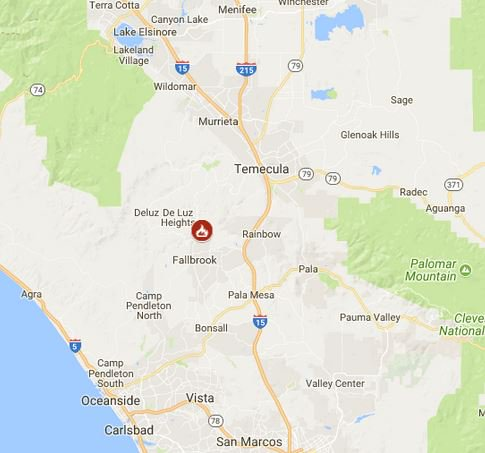 Cal Fire On Twitter Firefighters Are Battling A 50 Acre Fire Off