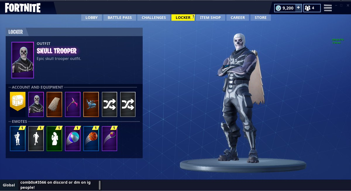 Fortnite account selling discord