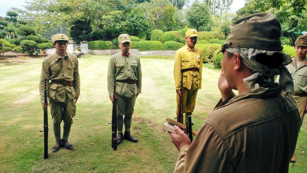 """メラーノ@竹の会 on Twitter: """"陸軍竹ノ学校教練中。 第二次世界大戦 ..."""